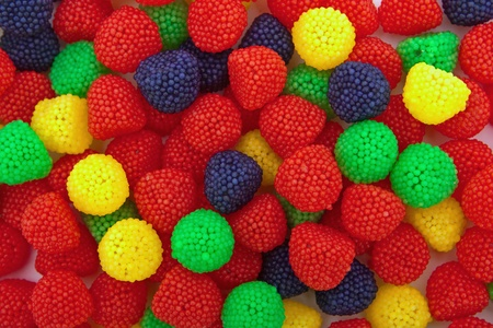 Color sweets background Stock Photo