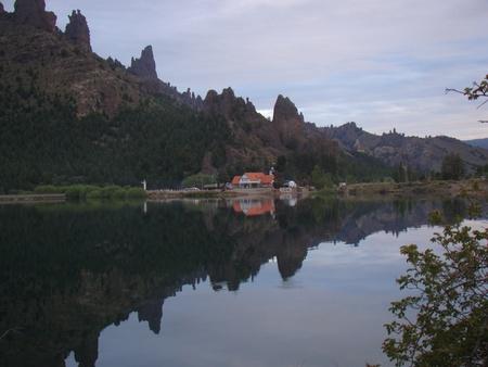 bariloche: mirror lake