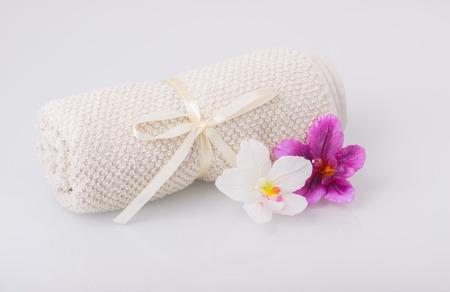 aromatický: Ručník a aromatické svíčky
