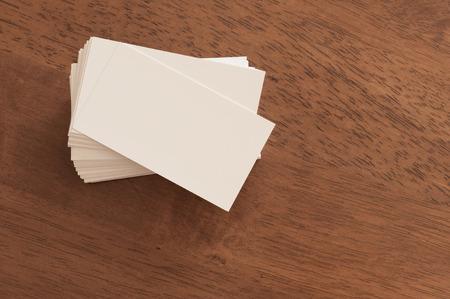 visualization: Business Card Visualization Template Stock Photo