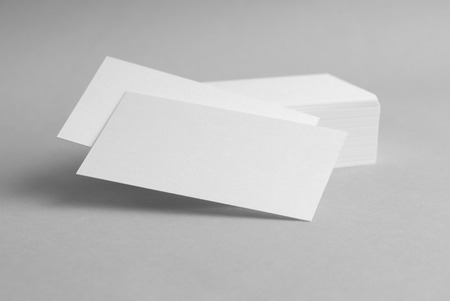 Template for Business Card Presentation Stock Photo