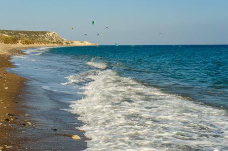 kiting: Seaside and kites