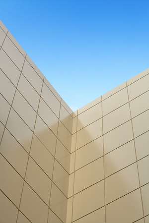 resource conservation: Insulation of walls, building cladding composite panels, resource conservation, building facade, wall skyscraper, insulation of facades, building material, building facing work.