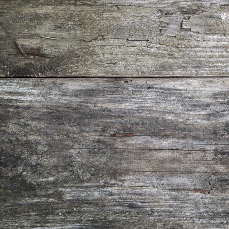 Texture of old wooden planks. Top view.