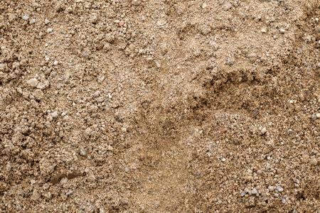 Zand achtergrond structuur. Close-up van grove zandkorrels.