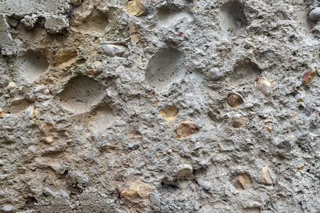 coquina: Coquina background. Old grunge fossil limestone texture.