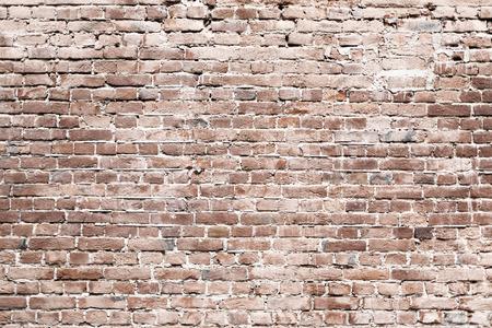 Bakstenen muur textuur. Oude metselwerk achtergrond. Oude bakstenen muur textuur.