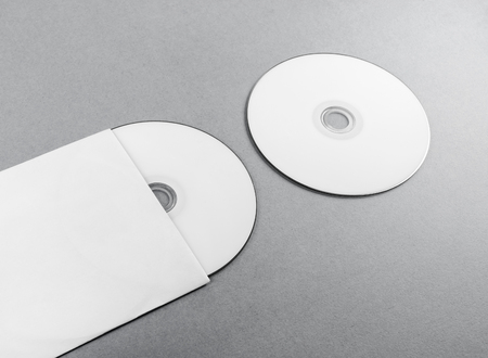 Blank compact disk on gray paper background cd with envelope blank compact disk on gray paper background cd with envelope template for branding identity maxwellsz
