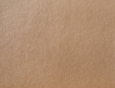 Kraft wrapping paper texture. Photo of brown cardboard background. Stok Fotoğraf