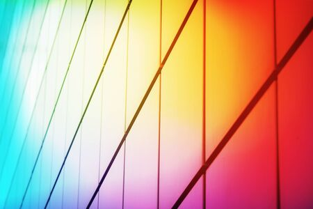 Bright multi-colored abstract background. Shallow depth of field. Selective focus.
