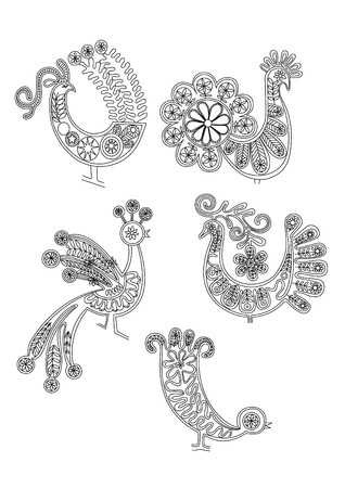 lace birds