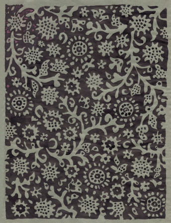 russian floral decorative vintage background
