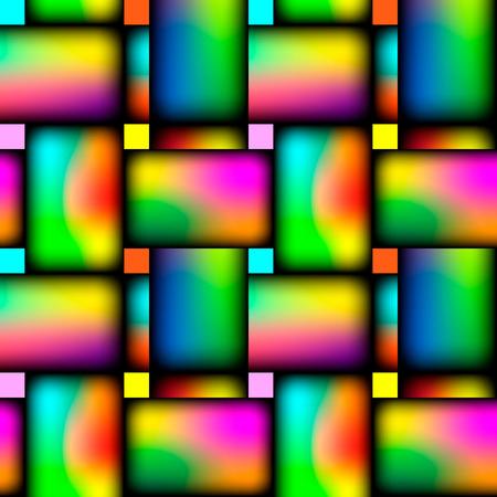 Wicker repeating seamless vivid crosswise pattern. Vector illustration.