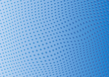 Abstract blue background perforated holes. Illustration