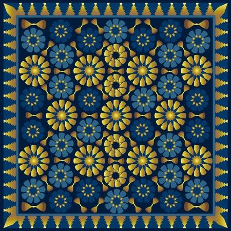 Arabic pattern Vettoriali