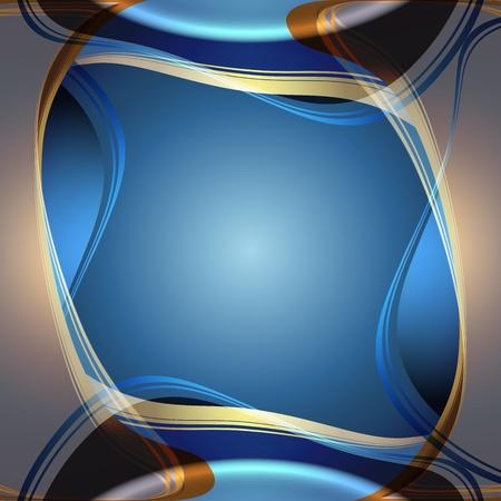 Sfondo astratto, bandiere eleganti blu Archivio Fotografico - 11994665