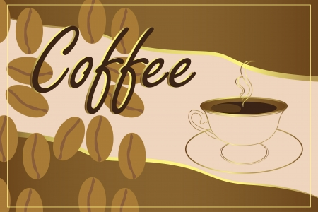Cup of coffee Stock Vector - 13953660