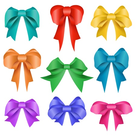 secret love: Different colors bow collection