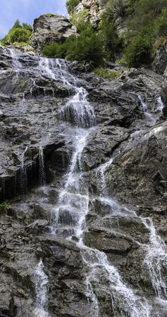 transfagarasan: Waterfall on Transfagarasan