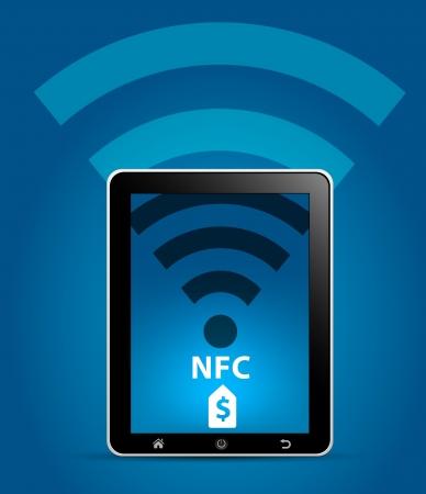 nfc: NFC Near Field Communication Concept