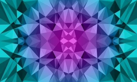 Dark Polygon Background