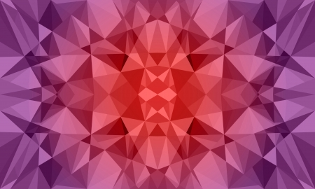 Dark Polygon Abstract Background in Violet and Pink