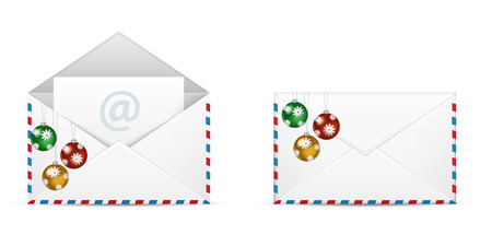 Christmas LEtter Icon. Christmas Newsletter