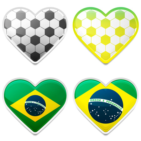 Football Hearts of Brazil