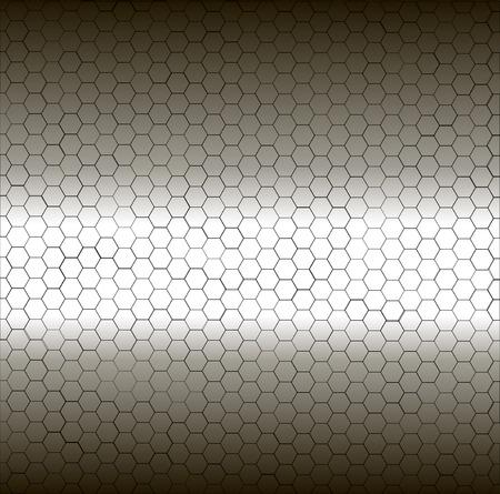 pentagon: Seamless white and black pentagon background.