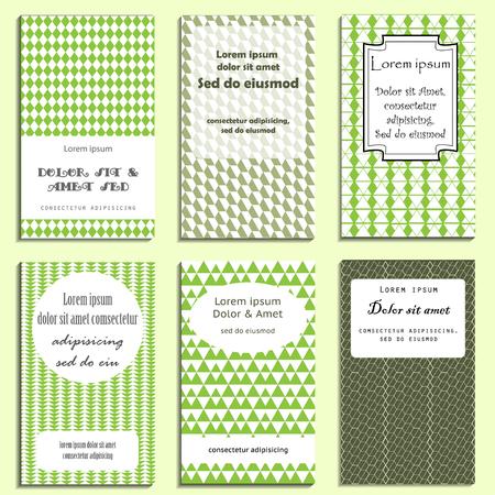 birthday invitation: set of greeting cards design for birthday, party invitation etc.