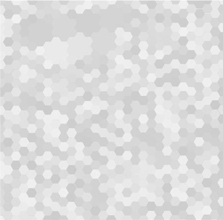Seamless gris pentagone fond. Vecteurs