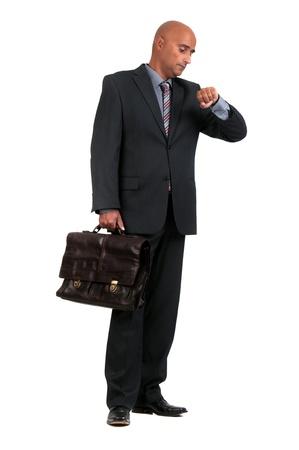 case: Hombre de negocios que espera