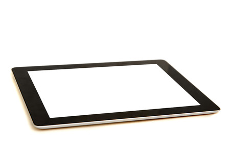 digital tablet isolated in white photo
