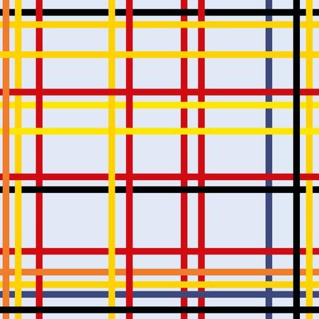 Seamless geometric abstract art modern Illustration