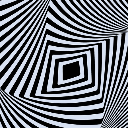 sensory perception: Optical Illusion Opt Art Illustration Illustration