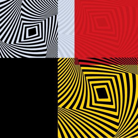 opt: Optical Illusion Opt Sztuka Ilustracji Ilustracja