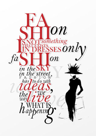 Fashion is not something that exists in dresses only.  Ilustração