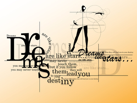 destiny: Inspiring quote - Dreams are like stars, you may never catch them but if you follow them, they will lead you to your destiny