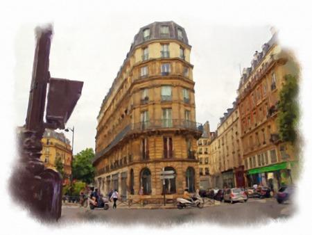 pont: original oil painting streets of Paris