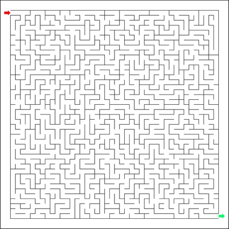 Difficult and hard labirynth, maze, brain teaser, the riddle