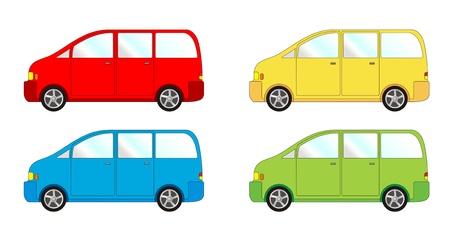 convoy: Confezione di veicolo - van