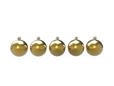 Christmas colorful baubles pack Stock Photo - 16796289