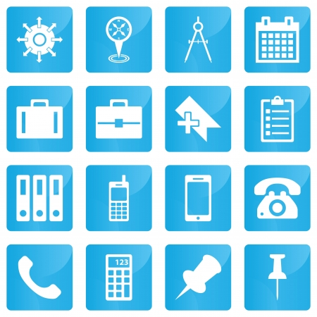 Business, e-commerce, web and shopping icons set in modern style