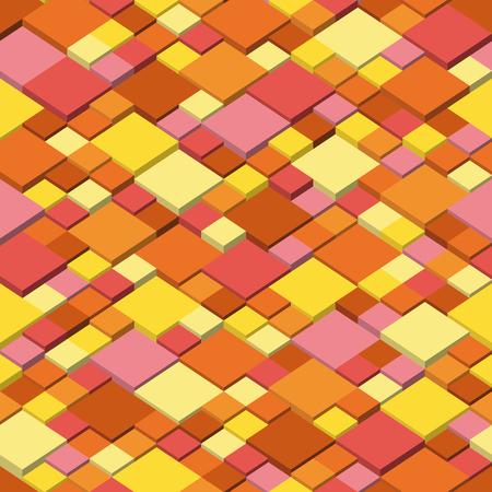 Autumn  Abstract seamless pattern Vector illustration.