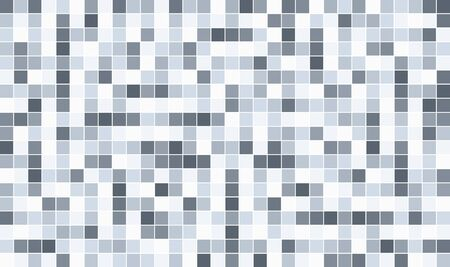 Grayscale pixel background. Abstract digital vector illustration.