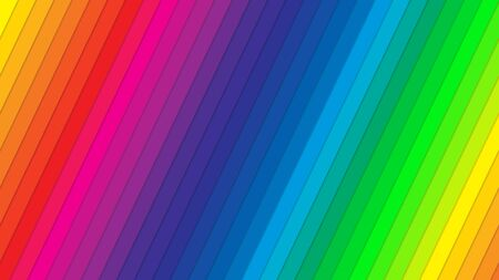 Beautiful color spectrum background. Linear color spectrum wallpaper with light shadows. Very high quality.