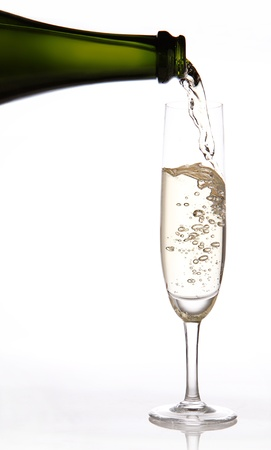 cava: Sparkling wine Stock Photo