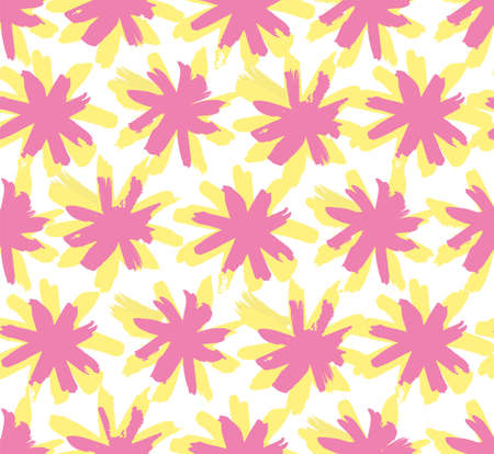 Abstract flower sun pattern on white background  イラスト・ベクター素材