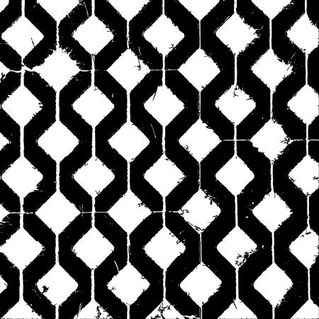 Abstrakter schwarzer und weißer Hintergrund in Form von Quadraten.