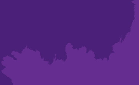 A bright purple burning sky. Space for writing and design.Torn texture.Illustration.